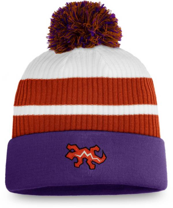 NHL Men's Arizona Coyotes Purple Special Edition Knit Pom Beanie product image