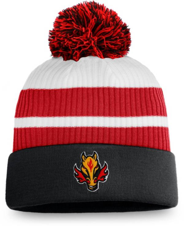 NHL Men's Calgary Flames Black Special Edition Knit Pom Beanie product image