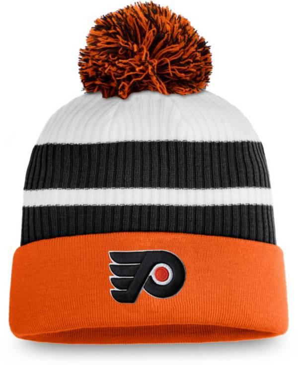 NHL Men's Philadelphia Flyers Orange Special Edition Knit Pom Beanie product image