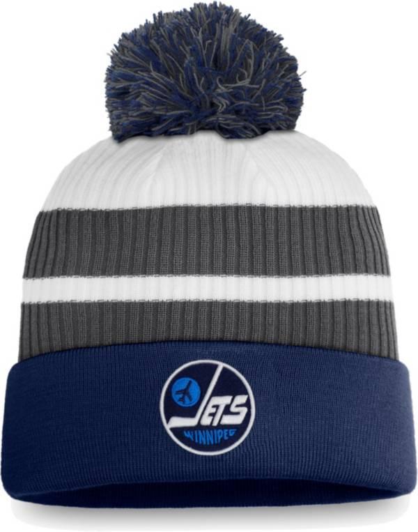 NHL Men's Winnipeg Jets Grey Special Edition Knit Pom Beanie product image