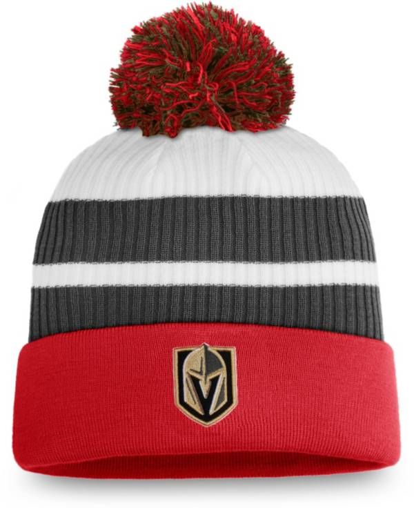 NHL Men's Las Vegas Golden Knights Red Special Edition Knit Pom Beanie product image
