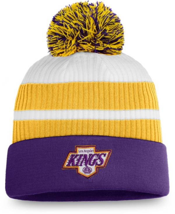 NHL Men's Los Angeles Kings Purple Special Edition Knit Pom Beanie product image
