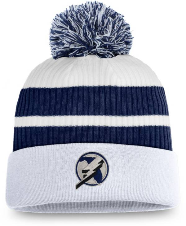 NHL Men's Tampa Bay Lightning Blue Special Edition Knit Pom Beanie product image