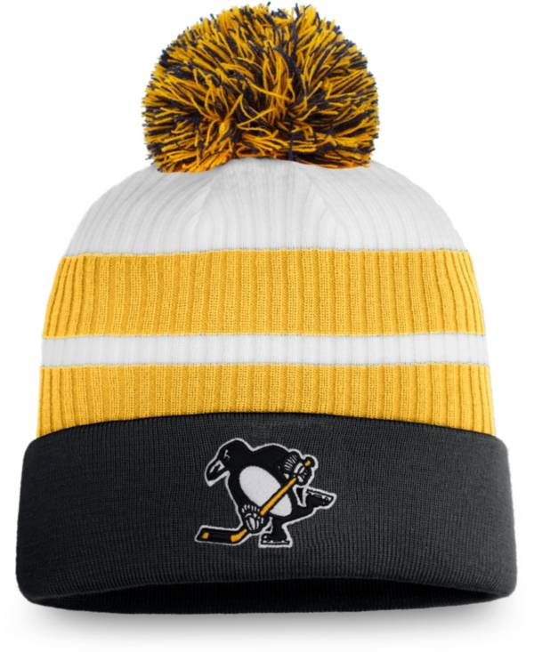 NHL Men's Pittsburgh Penguins White Special Edition Knit Pom Beanie product image