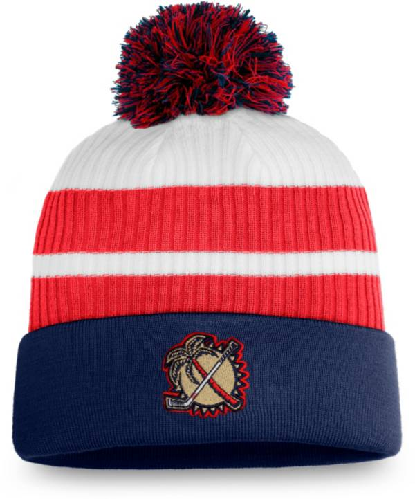 NHL Men's Florida Panthers Navy Special Edition Knit Pom Beanie product image