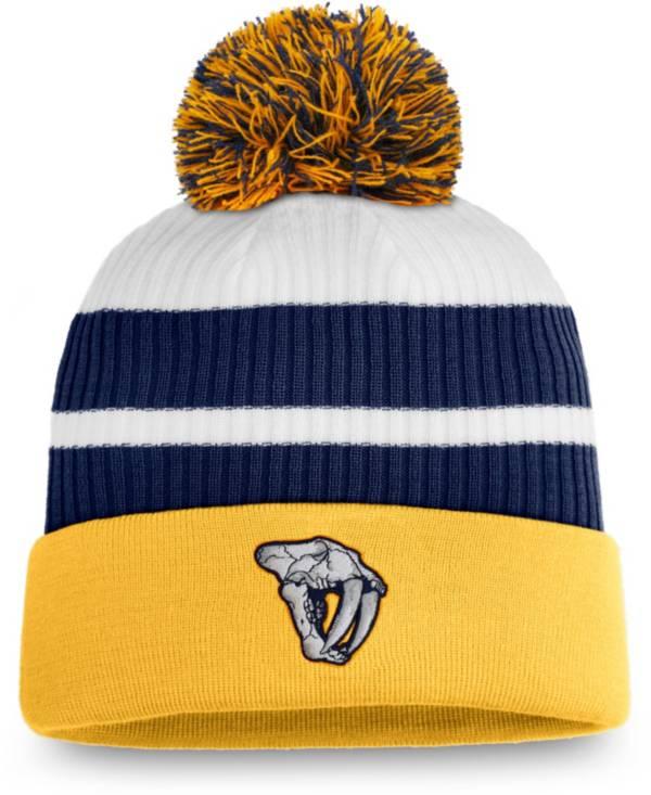 NHL Men's Nashville Predators Gold Special Edition Knit Pom Beanie product image