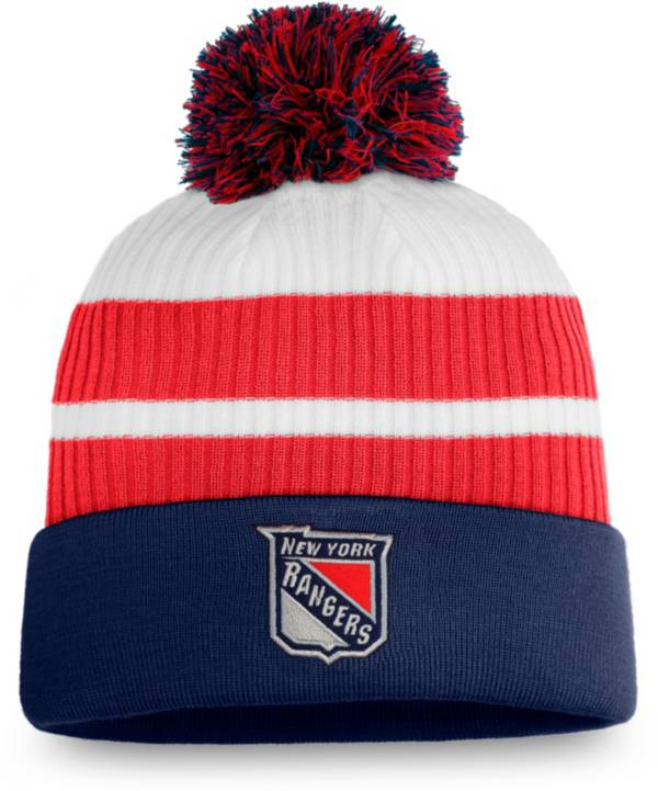 NHL Men's New York Rangers Navy Special Edition Knit Pom Beanie product image