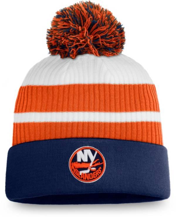 NHL Men's New York Islanders Orange Special Edition Knit Pom Beanie product image