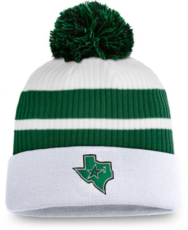 NHL Men's Dallas Stars White Special Edition Knit Pom Beanie product image