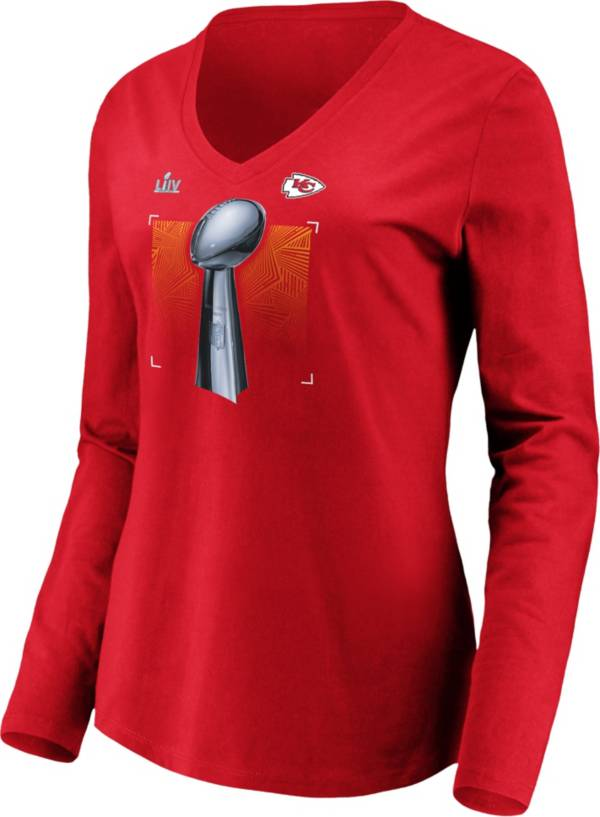 NFL Women's Super Bowl LIV Champions Kansas City Chiefs Parade Long Sleeve Shirt product image