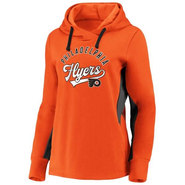 NHL Men's Philadelphia Flyers Gameday Arch Orange Pullover Sweatshirt product image