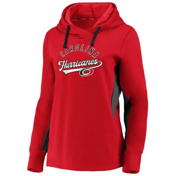 NHL Women's Carolina Hurricanes Game Ready Red Pullover Sweatshirt product image