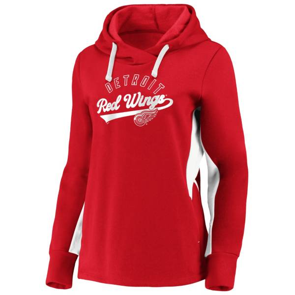 NHL Women's Detroit Red Wings Gameday Arch Red Pullover Sweatshirt product image