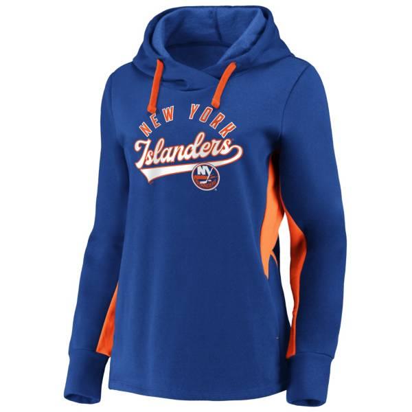 NHL Men's New York Islanders Gameday Arch Blue Pullover Sweatshirt product image