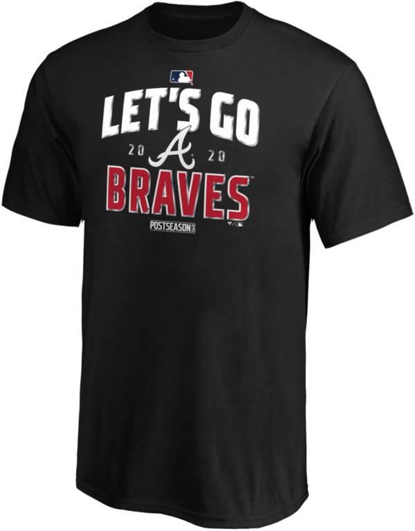 MLB 2020 Youth League Division Series Champions Atlanta Braves Black T-Shirt product image