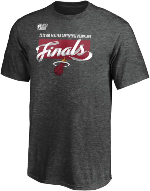 NBA Youth 2020 Eastern Conference Champions Miami Heat Locker Room T-Shirt product image