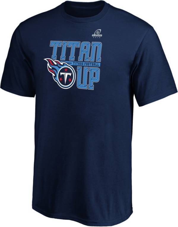 NFL Youth Tennessee Titans Hometown Navy 2019 Playoffs T-Shirt product image