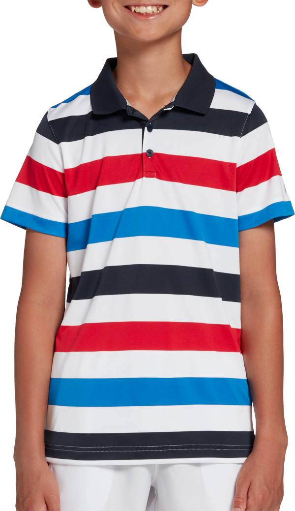 Prince Boys' USA Stripe Polo product image