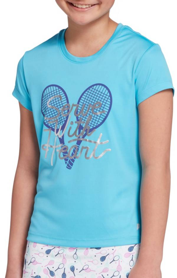 DSG Girls' Graphic Tennis T-Shirt product image