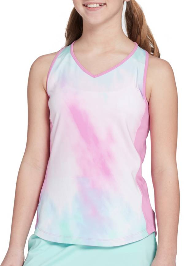 Prince Girls' Watercolor Tennis Tank Top product image