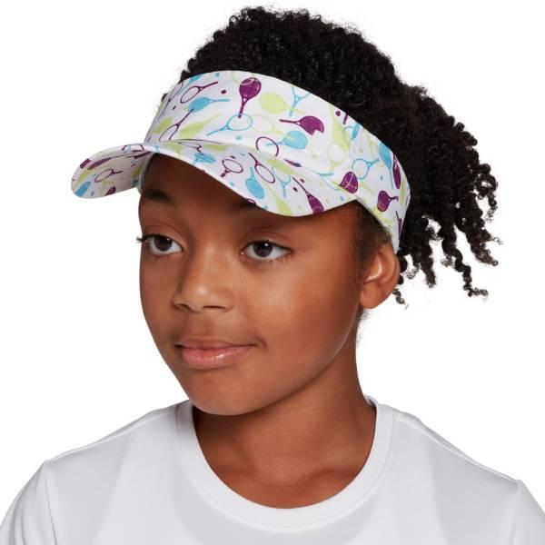 Prince Girls' Adjustable Visor Hat product image