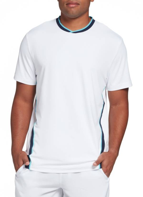 Prince Men's Side Stripe Crew Tennis Shirt product image