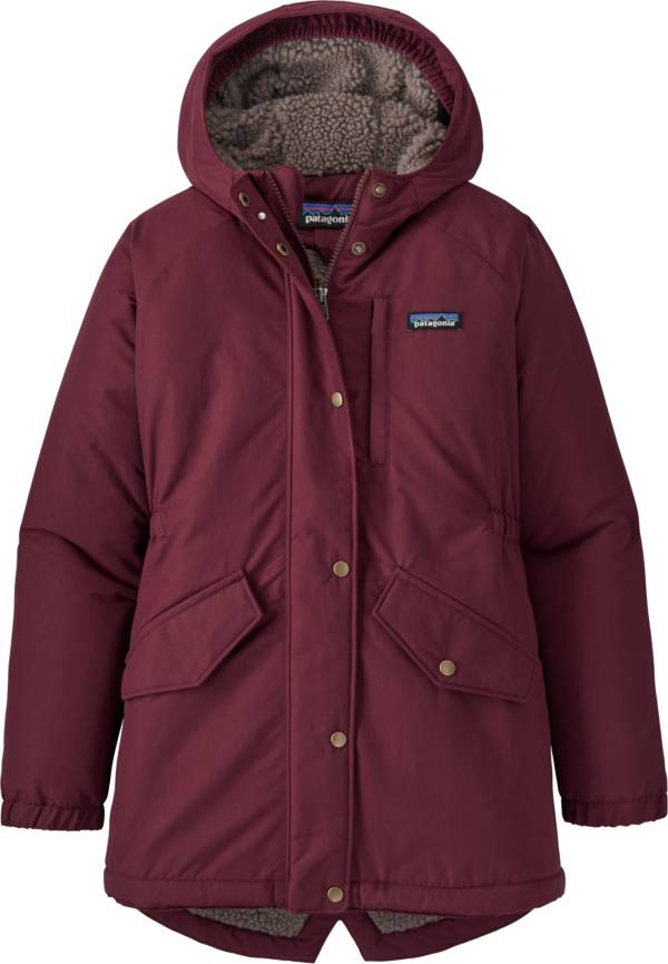 Patagonia Girls' Insulated Isthmus Parka Jacket product image