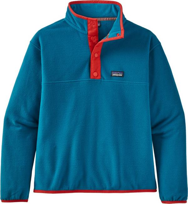 Patagonia Girls' Micro D Snap-T Pullover Sweater product image