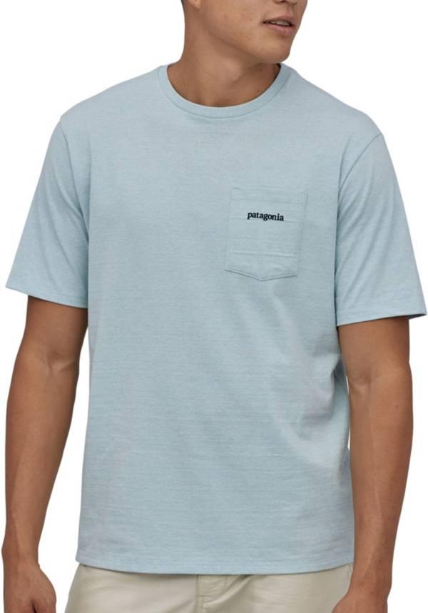 Patagonia Men's Line Logo Ridge Pocket Responsibili-Tee Short Sleeve T-Shirt product image