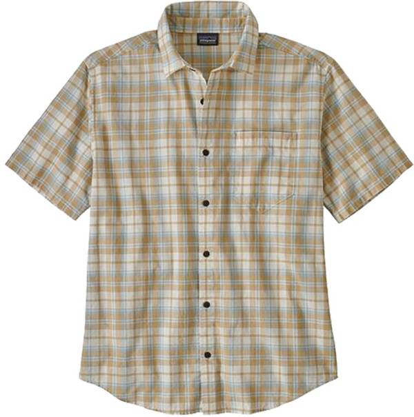 Patagonia Men's Organic Cotton Slub Poplin Button Up Shirt product image