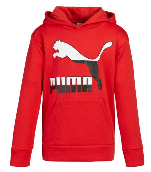 PUMA Boys' Classic Split Fleece Hoodie product image