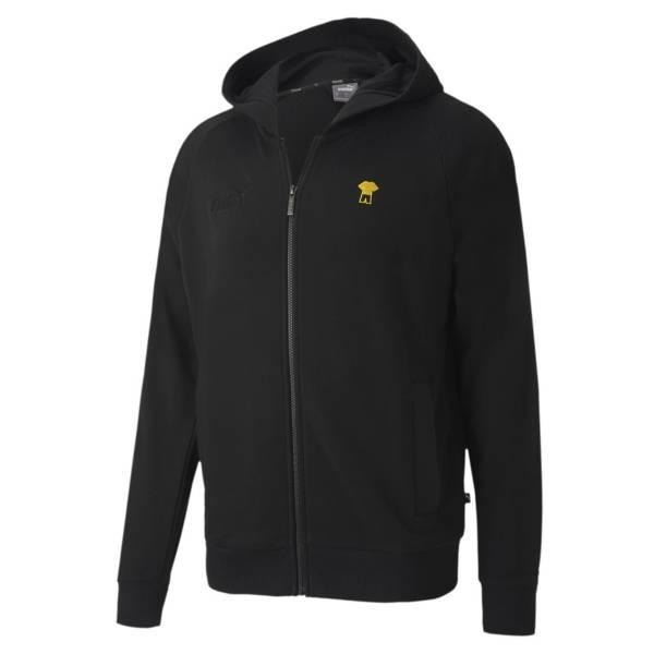 PUMA Men's Borussia Dortmund Anthem Black Jacket product image