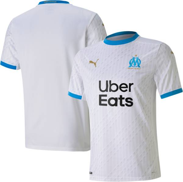 PUMA Men's Marseille '20 Stadium Home Replica Jersey product image
