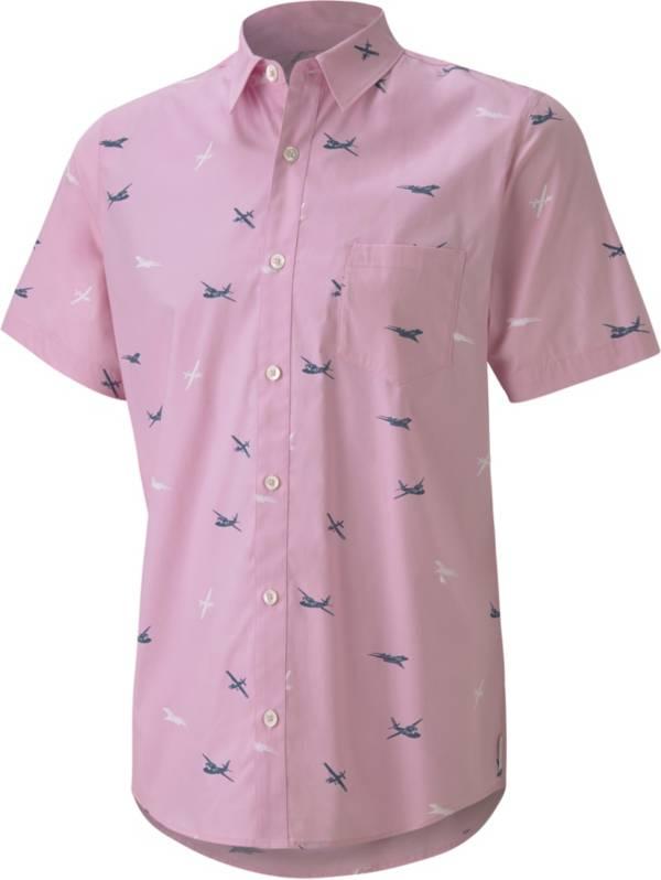 PUMA x Arnold Palmer Men's Citation Woven Print Golf Shirt product image