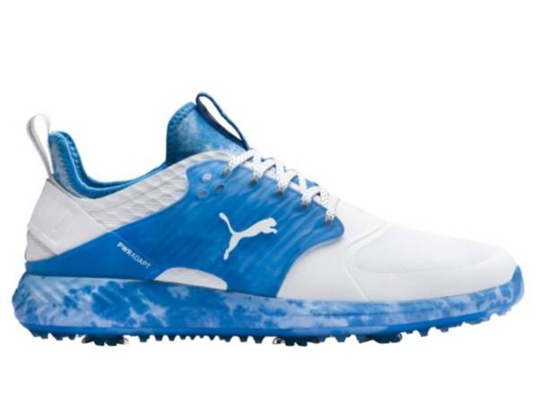 PUMA Men's Ignite PWRADAPT Caged Love/Haight Golf Shoes product image