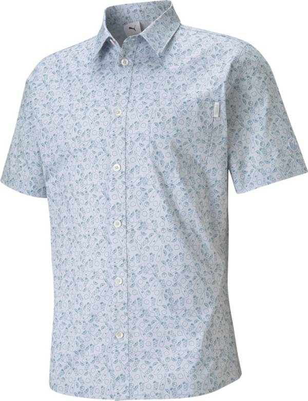 PUMA X Arnold Palmer Men's 19th Hole Button Down Golf Top product image