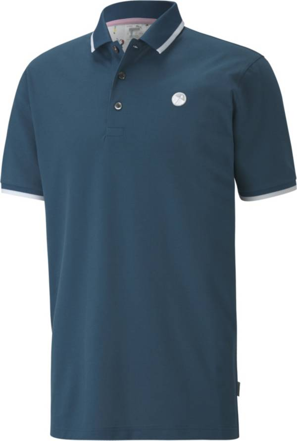 PUMA x Arnold Palmer Men's Signature Tipped Golf Polo product image