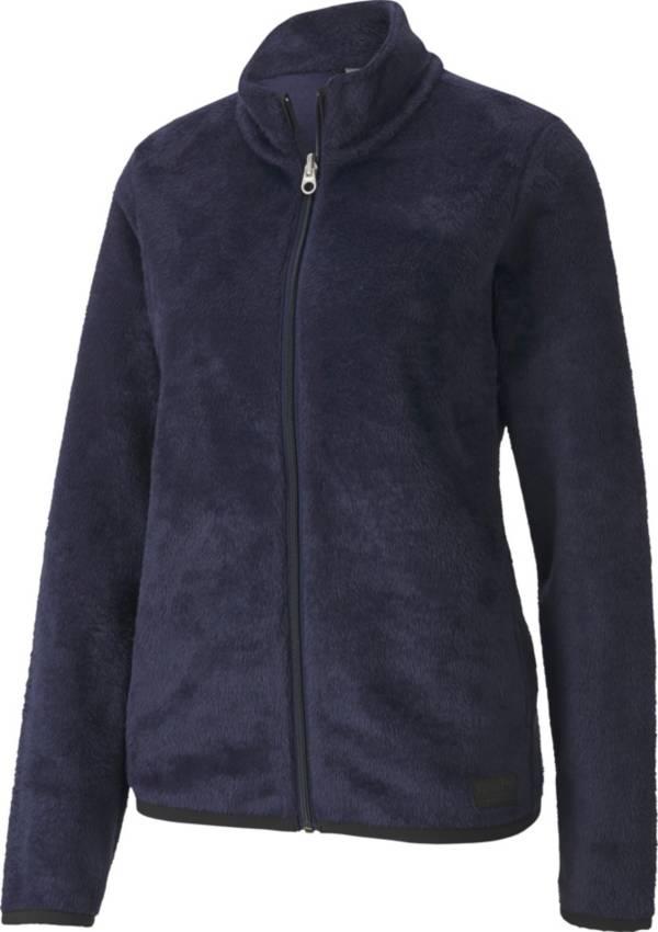 PUMA Women's Sherpa Fleece Full Zip Jacket product image