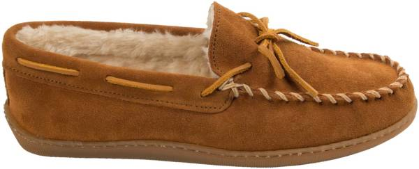 Minnetonka Men's Pile Lined Hardsole Moccasin Slippers product image