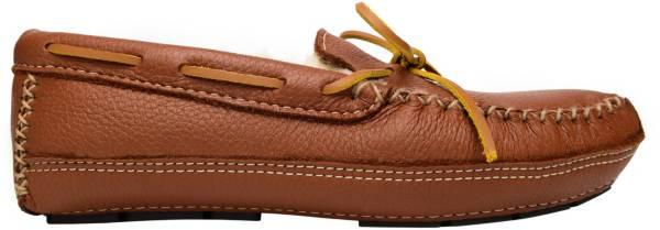 Minnetonka Men's Sheepskin Moose Moccasin Slippers product image