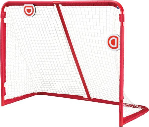 PowerBolt 54'' Metal Hockey Goal w/ Magnetic Targets product image