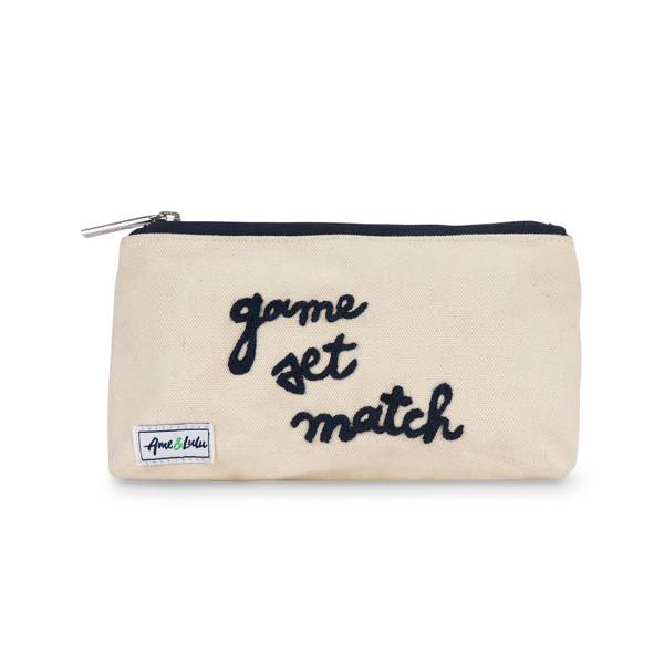 Ame and Lulu Brush It Off Cosmetic Case product image