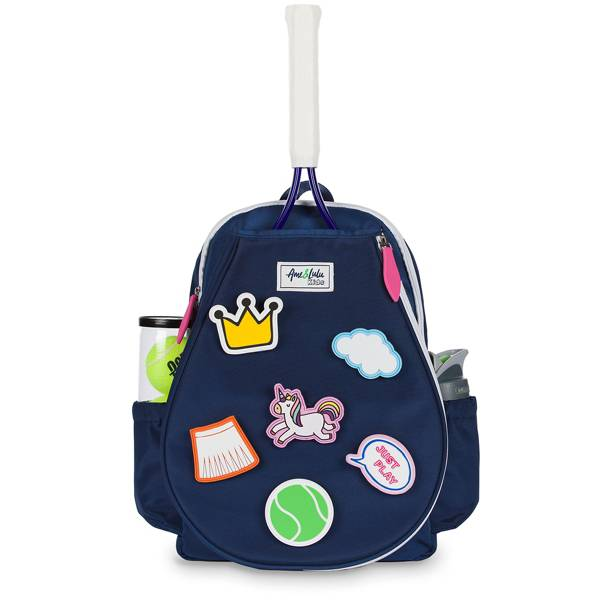 Ame and Lulu Little Patches Youth Tennis Backpack product image