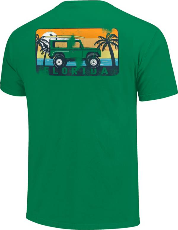 Image One Men's Florida Jeep Short Sleeve T-Shirt product image