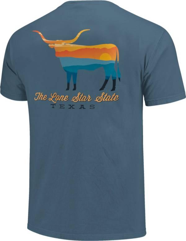 Image One Men's Texas Bull Short Sleeve T-Shirt product image