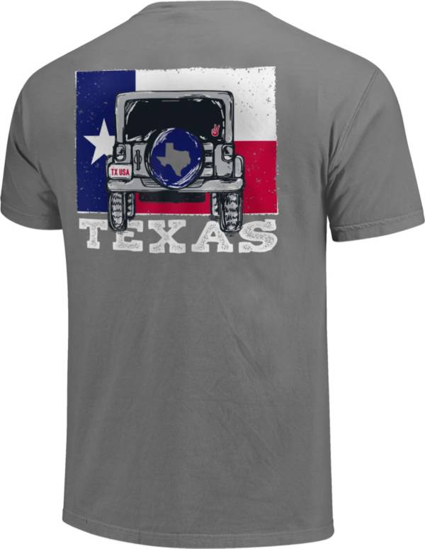 Image One Men's Texas Jeep Short Sleeve T-Shirt product image