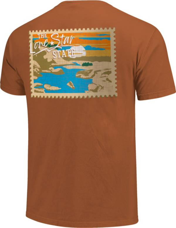 Image One Men's Texas Stamp Short Sleeve T-Shirt product image