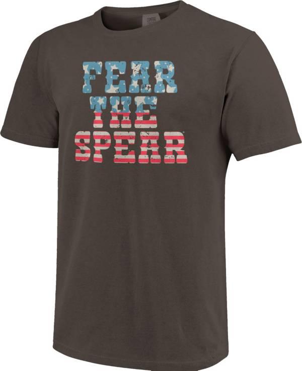 Image One Men's Florida State Seminoles Grey Vintage Flag T-Shirt product image