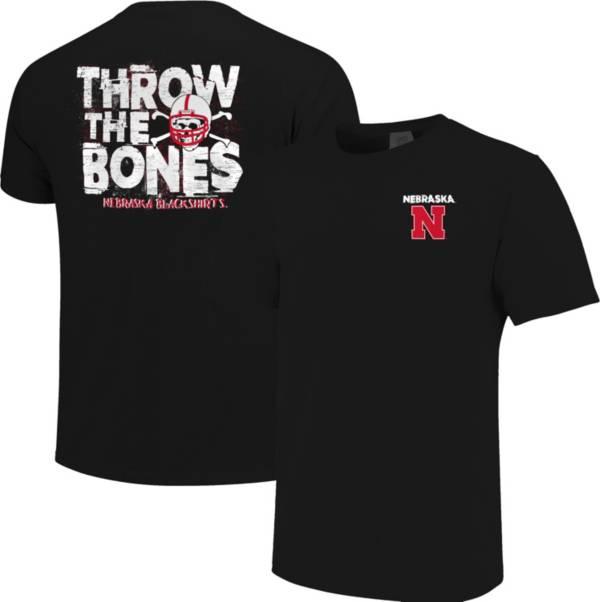 Image One Men's Nebraska Cornhuskers Local Graphic Black T-Shirt product image