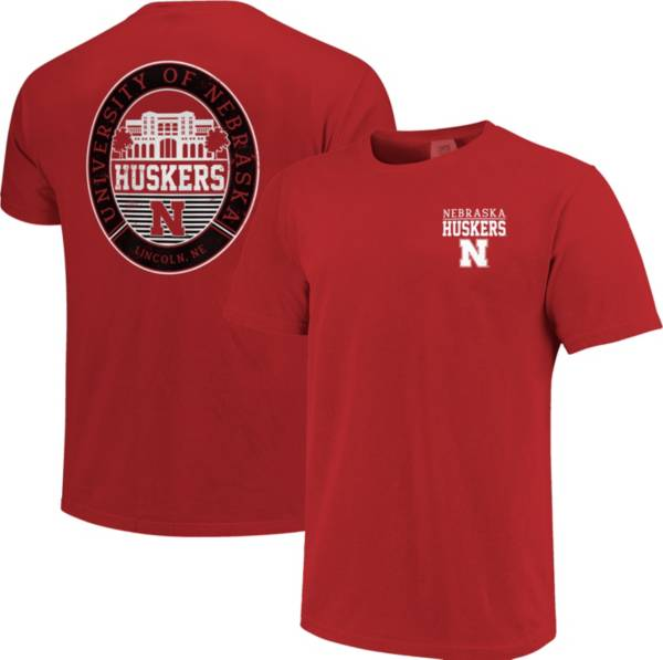 Image One Men's Nebraska Cornhuskers Scarlet Campus Local T-Shirt product image